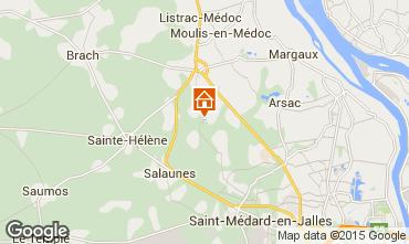 Mapa Burdeos Casa 76715