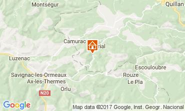 Mapa  Casa rural 95876