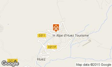 Mapa Alpe d'Huez Apartamento 67379