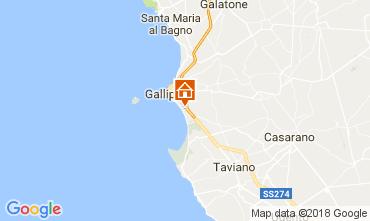 Mapa Gallipoli Apartamento 108516