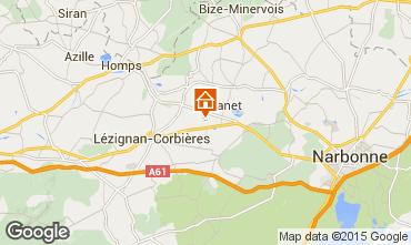 Mapa Carcassonne Casa rural 38926