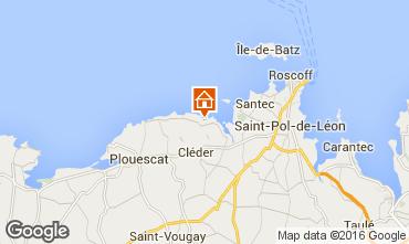 Mapa Roscoff Villa 82006