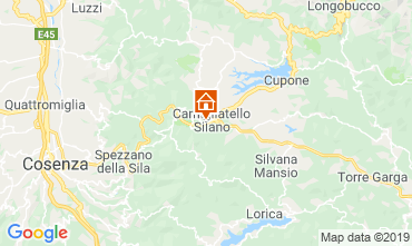 Mapa Camigliatello silano Chalet 51597