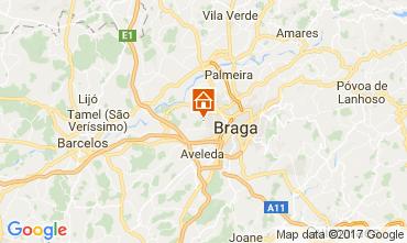 Mapa Braga Casa rural 108806