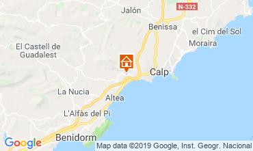 Mapa Altea Villa 118294