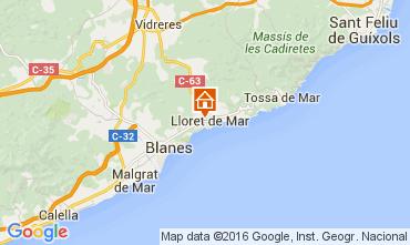 Mapa Lloret de Mar Estudio 97172
