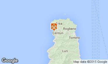 Mapa Centuri Casa rural 68607