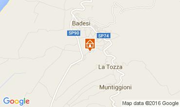 Mapa Badesi Apartamento 80778