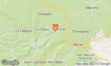 Mapa Le Lioran Casa rural 58333