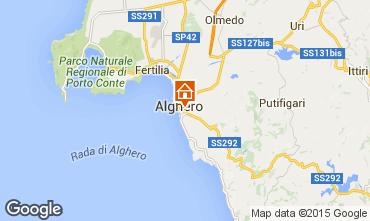 Mapa Alghero Apartamento 69224