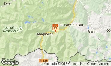Mapa Saint Lary Soulan Casa rural 67181