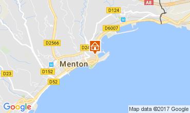 Mapa Menton Apartamento 61049