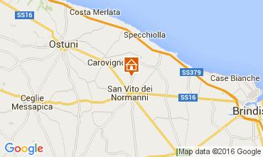 Mapa Ostuni Villa 104301