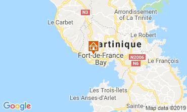 Mapa Fort-de-France Casa 118182