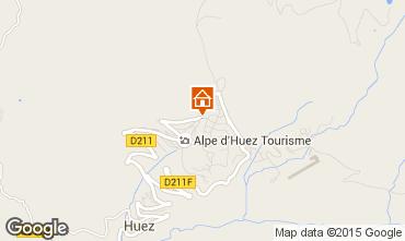 Mapa Alpe d'Huez Apartamento 74134
