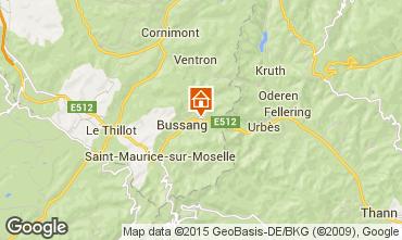 Mapa La Bresse Hohneck Casa rural 4796