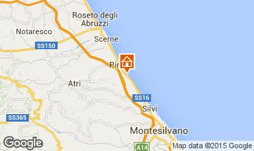 Mapa Pineto Apartamento 85795