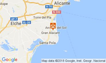 Mapa Alicante Casa 112965