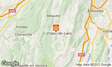 Mapa Villard de Lans - Corrençon en Vercors Chalet 38572