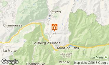 Mapa Alpe d'Huez Apartamento 104