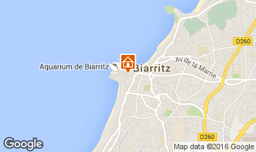 Mapa Biarritz Apartamento 87104