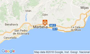 Mapa Marbella Apartamento 111269