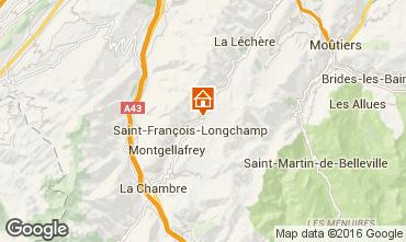 Mapa Saint François Longchamp Apartamento 74701