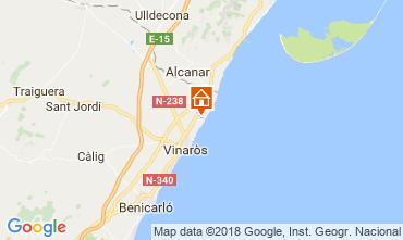 Mapa Vinaroz Villa 114818