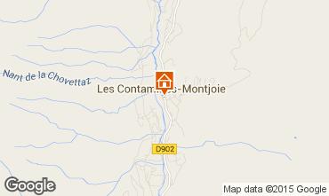 Mapa Les Contamines Montjoie Apartamento 973