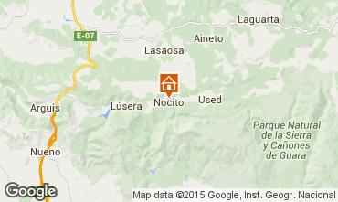 Mapa Aínsa Casa rural 15760