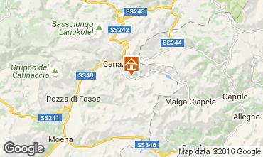 Mapa Canazei - Belvedere Apartamento 45784