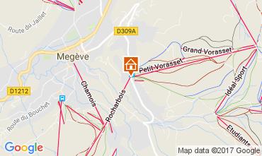 Mapa Megève Apartamento 111916