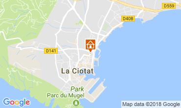 Mapa La Ciotat Apartamento 103352
