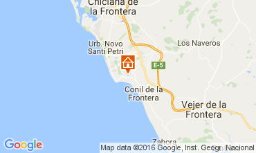 Mapa Conil de la Frontera Chalet 103983