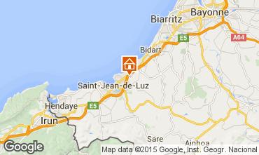Mapa San Juan de Luz Apartamento 97030