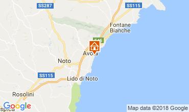 Mapa Avola Villa 113747