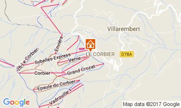 Mapa Le Corbier Apartamento 112752