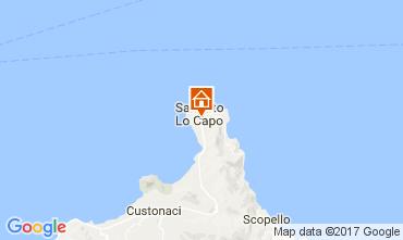 Mapa San Vito lo Capo Apartamento 75045