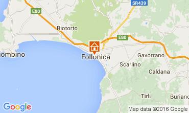 Mapa Follonica Apartamento 85671