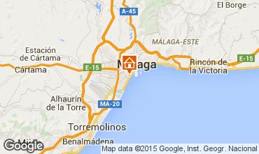 Mapa Málaga Apartamento 68454