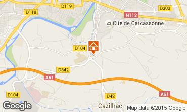 Mapa Carcassonne Villa 99317