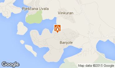 Mapa Banjole Apartamento 78102
