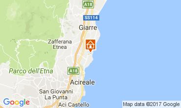 Mapa Acireale Villa 83669