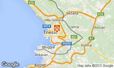 Mapa Trieste Apartamento 52151