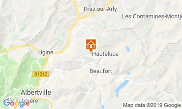 Mapa Les Saisies Chalet 51561