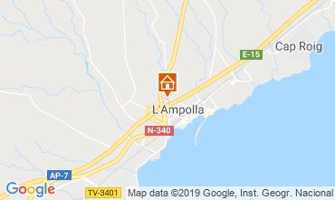 Mapa La Ampolla Villa 119055