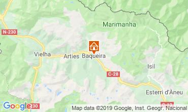 Mapa Baqueira-Beret Apartamento 73617