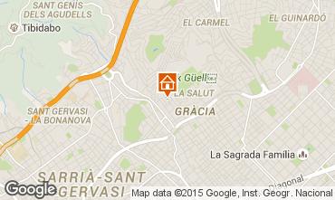 Mapa Barcelona Apartamento 81207