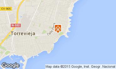 Mapa Torrevieja Apartamento 55632