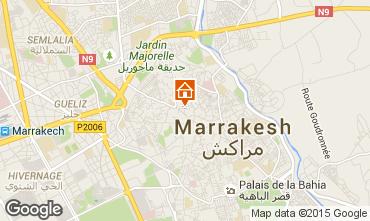 Mapa Marruecos habitaci�n de hu�spedes 73372